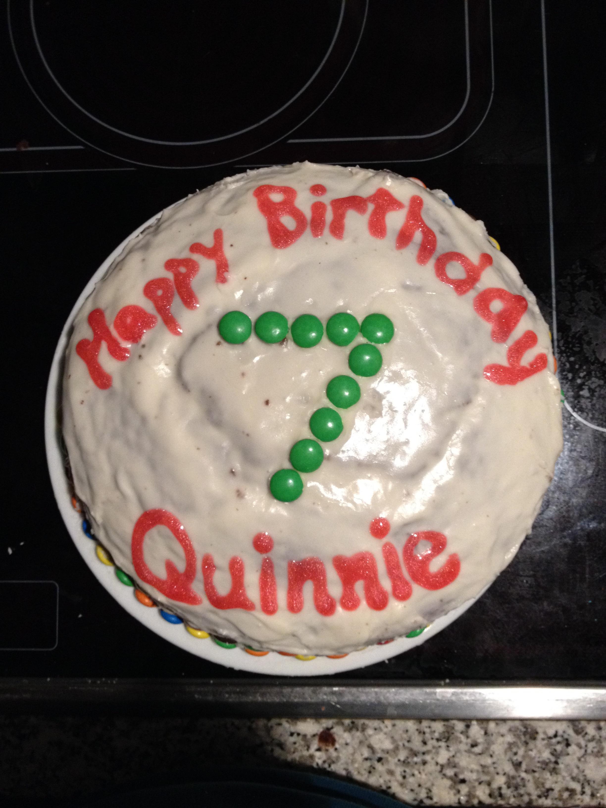 Quinnies 7th Birthday Ribbons Undone